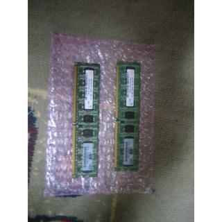 HynixのDDR2-800ECC付(PC2-6400)Bセット(PCパーツ)