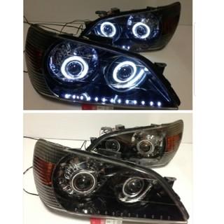 アルテッツァ プロジェクター&イカリング&デイライト付ヘッドライト(車種別パーツ)