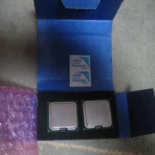 速い775-CPU、PentiumE5800.3.2GHZ、二個(PCパーツ)