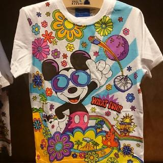 ディズニー(Disney)のミッキー サングラス Tシャツ 【100】(Tシャツ/カットソー)