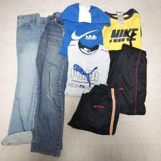 ナイキ(NIKE)の男の子服まとめ売り 福袋  150 7点  ナイキ  プーマ  kaepa(ウェア)