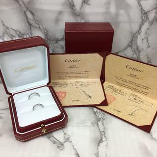 カルティエ(Cartier)のカルティエ 結婚指輪 ペアリング Pt950(リング(指輪))