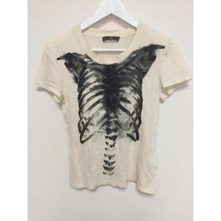 アレキサンダーマックイーン(Alexander McQueen)のMQ プリント Tシャツ(Tシャツ(半袖/袖なし))