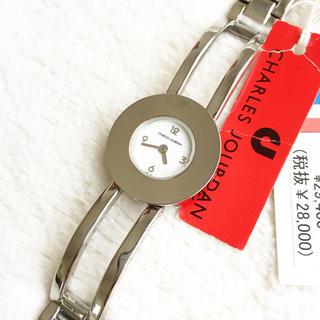 シャルルジョルダン(CHARLES JOURDAN)の極美品☆ 電池交換済み シャルルジョルダン 定価3万円(腕時計)