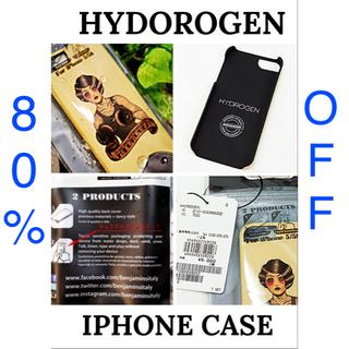 ハイドロゲン(HYDROGEN)の【HYDOROGEN】iphoneケース tattoo boxer girl(iPhoneケース)