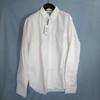 ジェイプレス(J.PRESS)の新品 輸入品 YORK ST.Jプレス OX白 長袖 B.D.シャツ XL (シャツ)