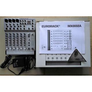 BEHRINGER  EURORACK MX802A(ミキサー)