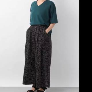 レプシィム(LEPSIM)の美品 レプシィム  肘丈 Tシャツ カットソー グリーン フリーサイズ(カットソー(半袖/袖なし))