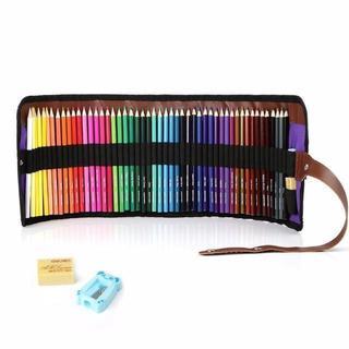 色鉛筆 50色セット 画材セット 鉛筆削り・消しゴム付き