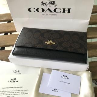 大人気 COACH(コーチ)長財布 F53763 ID ケース
