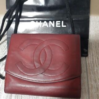 シャネル(CHANEL)のCHANEL シャネル ラムスキン革 財布 (財布)