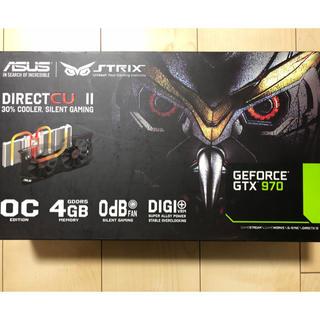 エイスース(ASUS)のASUS STRIX GTX970 OC(PCパーツ)