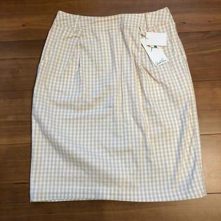 アーノルドパーマー(Arnold Palmer)の新品 アーノルドパーマー ギンガムチェックスカート 2(ひざ丈スカート)