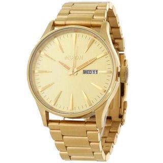 ニクソン(NIXON)の✨激安✨ 新品‼ ニクソン 腕時計 ユニセックス SENTRY ゴールド(腕時計)