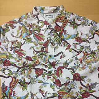 ハリウッドランチマーケット(HOLLYWOOD RANCH MARKET)の特別割引中❗️プロフィール必見❗️ハリウッドランチマーケット 長袖コットンシャツ(シャツ)