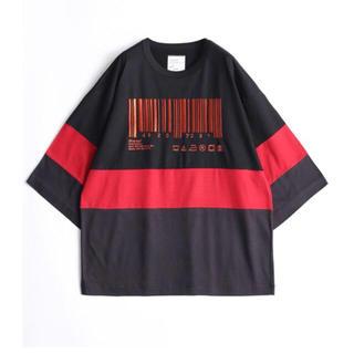 シャリーフ(SHAREEF)のSHAREEF バーコード Tシャツ  シャリーフ sunsea ESSAY(その他)