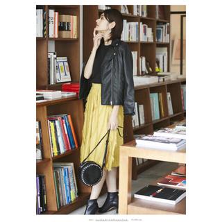 ユナイテッドアローズ(UNITED ARROWS)の新品⭐︎ セット NOSTALGIA ジャガードフレアスカート オーバーシャツ (ひざ丈スカート)