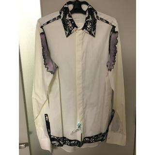 アレキサンダーマックイーン(Alexander McQueen)の吉井和哉着用 滲みシャツ(シャツ)