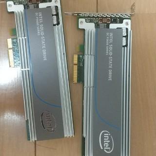 intel p3600 2tb 2台セット(PCパーツ)