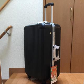 スーツケース Lサイズ  ブラック(スーツケース/キャリーバッグ)