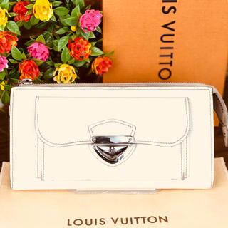 ルイヴィトン(LOUIS VUITTON)の*ルイヴィトン ポルトフォイユ アストリッド エピ ホワイト 正規品*(財布)