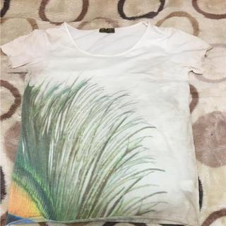 ゴア(goa)のゴア孔雀柄Tシャツ(Tシャツ(半袖/袖なし))