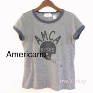 アメリカーナ(AMERICANA)のAmericana♡Tシャツ(Tシャツ(半袖/袖なし))