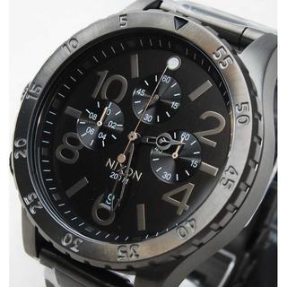 ニクソン(NIXON)の✭人気のガンメタ✭ 大型ベゼル ニクソン メンズ 腕時計 A486-632(腕時計(アナログ))