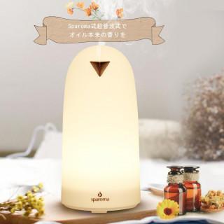大人気♡アロマディフューザー ベッドサイドランプ 加湿器 LED タイマー付き(加湿器/除湿機)
