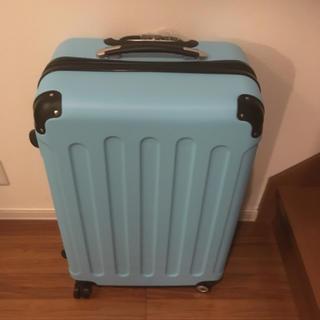 未使用品超軽量!大型スーツケースL size!(スーツケース/キャリーバッグ)