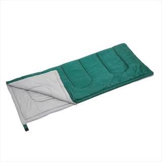グリーン☆寝袋 封筒型シュラフ プレーリー シュラフ(寝袋/寝具)