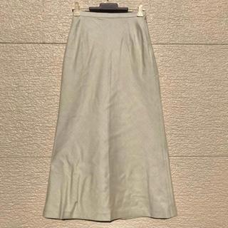 ニジュウサンク(23区)の23区 スカート ホワイト ベージュ 白 34(ロングスカート)