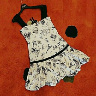 FOXEY - レア FOXEY Printed Dress 38 ワンピース