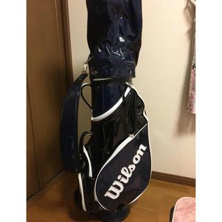 ウィルソン(wilson)のウィルソンゴルフバッグ ゴルフセット(バッグ)