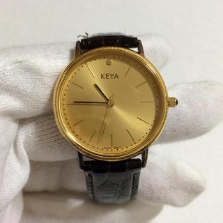リコー(RICOH)の925シルバー腕時計(ゴールドメッキ)非売品(腕時計(アナログ))