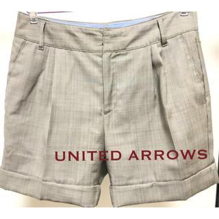 ユナイテッドアローズ(UNITED ARROWS)のUNITED ARROWS ショートパンツ グレンチェック(ショートパンツ)