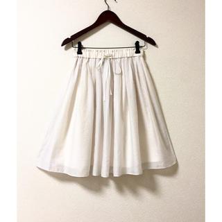 ユナイテッドアローズ(UNITED ARROWS)の【美品】ユナイテッドアローズ サマースカート(ひざ丈スカート)