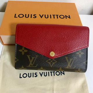 ルイヴィトン(LOUIS VUITTON)のルイヴィトン ポルトフォイユ パラス コンパクト(財布)