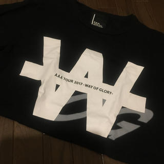AAA - AAA Tシャツ LIVE Tシャツ  WOG