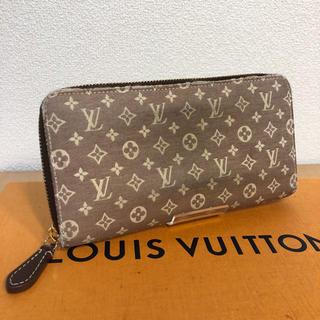ルイヴィトン(LOUIS VUITTON)の正規品 ルイ ヴィトン モノグラムデニム ジッピーウォレット 長財布(財布)