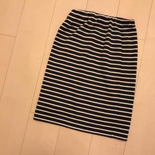 レプシィム(LEPSIM)のLEPSIM★ボーダースカート(ひざ丈スカート)