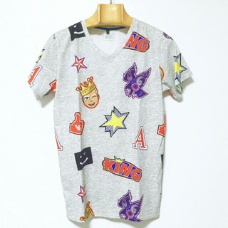 アルマーニ ジュニア(ARMANI JUNIOR)のARMANI JUNIOR/Vネック半袖カットソー/16A 175cm(Tシャツ(半袖/袖なし))