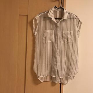 レプシィム(LEPSIM)のLEPSIM★ストライプシャツ(シャツ/ブラウス(半袖/袖なし))