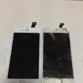 アイフォーン(iPhone)のiPhone6壊れた画面(スマートフォン本体)