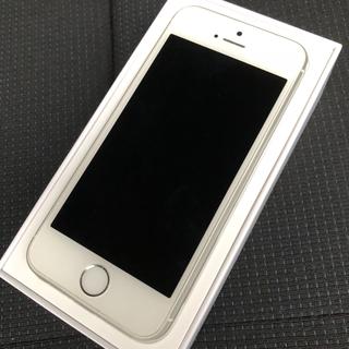 アップル(Apple)のiPhoneSE 64GB シルバー(スマートフォン本体)