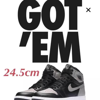 NIKE - 《新品》 24.5cm NIKE AIR JORDAN 1 OG SHADOW