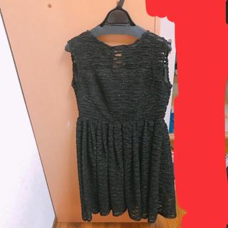 パーティードレス☆キラキラ☆ブラックドレス(その他ドレス)