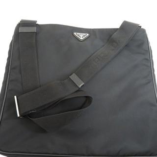 プラダ(PRADA)のPRADA ロゴマーク ショルダーバッグ ナイロン素材 ユニセックス(ショルダーバッグ)