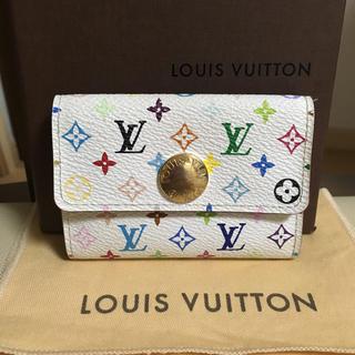 ルイヴィトン(LOUIS VUITTON)のルイヴィトン マルチカラー コインケース 小銭入れ カードケース 確実正規品(財布)