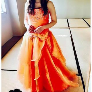 【中古】オレンジドレス(その他ドレス)